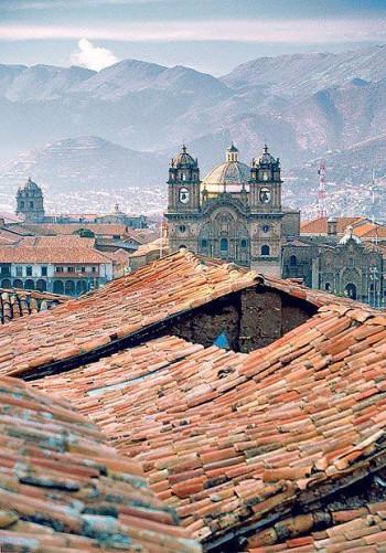 Sur les toits de Cuzco