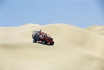 Expédition buggy dans le désert à Nazca