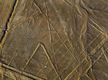 Lignes de Nazca - Figure de l'araignée
