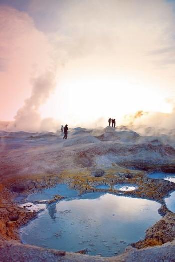 Geysers Sol de Mañana - Sud Lipez Bolivie