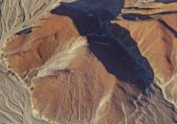 Lignes de Nazca - Figure de l'astronaute