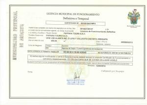 Licence Paprika Tours
