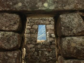 Fenêtre Inca Machu Picchu