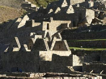 Machu Picchu - secteur en restauration
