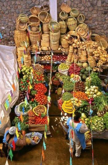 Marché - Sucre - Bolivie