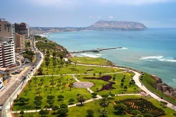 Lima - vue sur l´Océan Pacifique