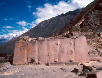 Temple du soleil d'Ollantaytambo - Vallée Sacrée des Incas