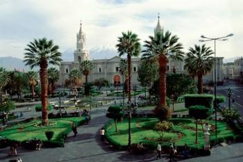 Plaza de Armas - Arequipa Pérou