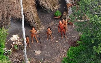 Tribu native d´Amazonie