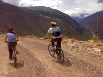 VTT en vallée sacrée des Incas