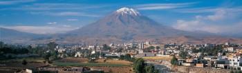 Arequipa et le volcan Misti