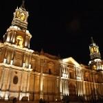 Cathédrale d'Arequipa, voyager au Pérou