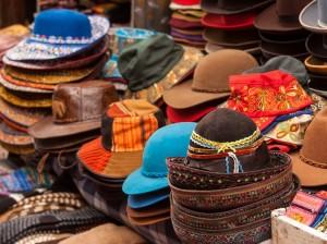 Chapeaux, Artisanat Pérou