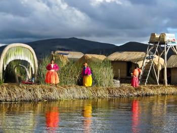 Iles Uros, Lac Titicaca