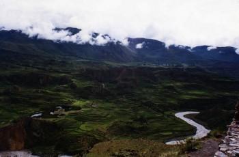 Cultures en terrasse, Vallée du Colca