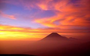 Coucher de soleil sur le Misti, Arequipa