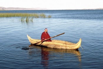 Caballito de Totora, Lac Titicaca