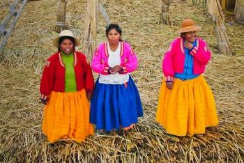 Lac Titicaca, Iles Uros