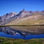lagune de la Cordillère des Andes