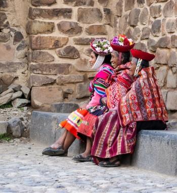 Femmes à Cuzco, Pérou