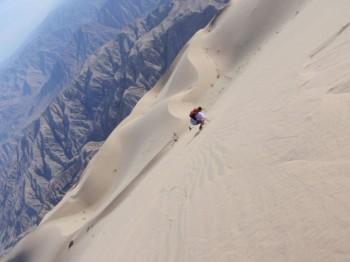 Sandboard sur le Cerro Blanco - Vallée de Nazca