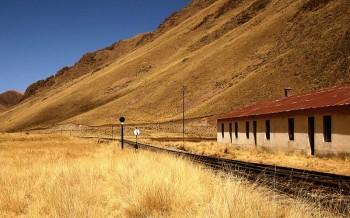 Paysage de la Cordillère des Andes