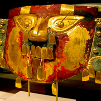 Masque, voyage au Pérou
