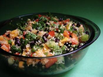 Salade de quinoa, bolivie voyage
