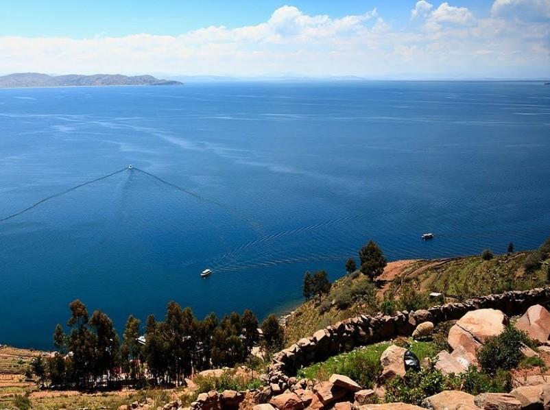 Ile taquile lac Titicaca