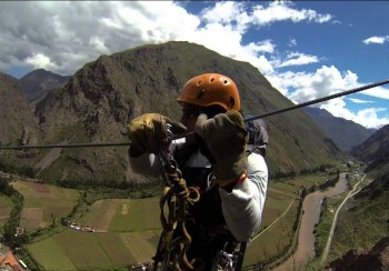 Zipline - vallée sacrée des incas