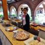 restaurant Alhambra - buffet - Vallée Sacrée des Incas