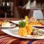 restaurant La Hacienda - cuisine du Pérou - Vallée sacrée des Incas