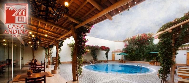 Paprika tours h tels nazca for Casa andina classic arequipa