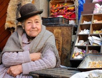 Portrait bolivien, La Paz, Bolivie