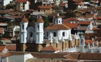 Les toits de Sucre, Bolivie