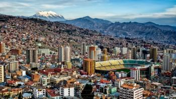 Vue générale de La Paz, Bolivie