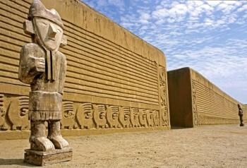 Site de Chan Chan - Pérou