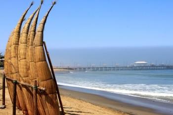 plage de Huanchaco - Trujillo