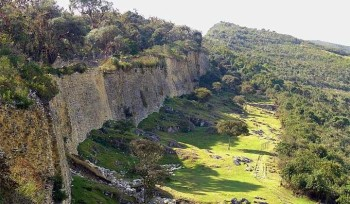 Kuelap, forteresse des Chachapoyas - Mur