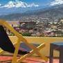 Andino Club - Hôtel Huaraz - Terrasse
